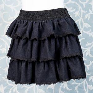 Rachael & Chloe Skirts - SUMMER-Rachael & Chloe denim mini skirt Large